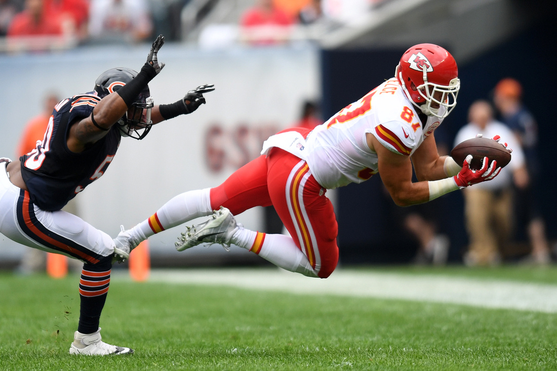NFL: Preseason-Kansas City Chiefs at Chicago Bears