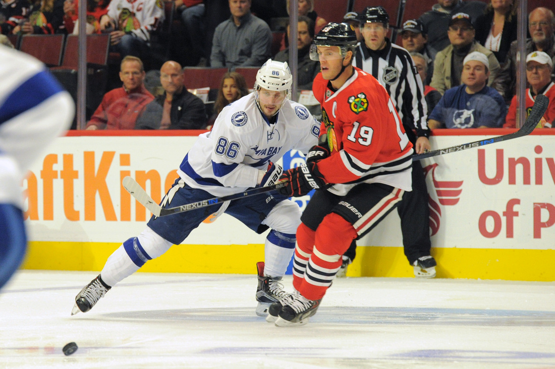 NHL: OCT 24 Lightning at Blackhawks