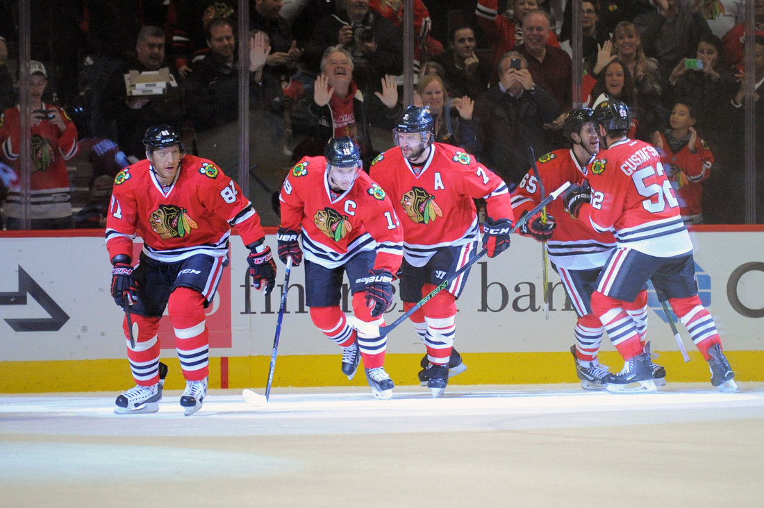 NHL: JAN 10 Avalanche at Blackhawks
