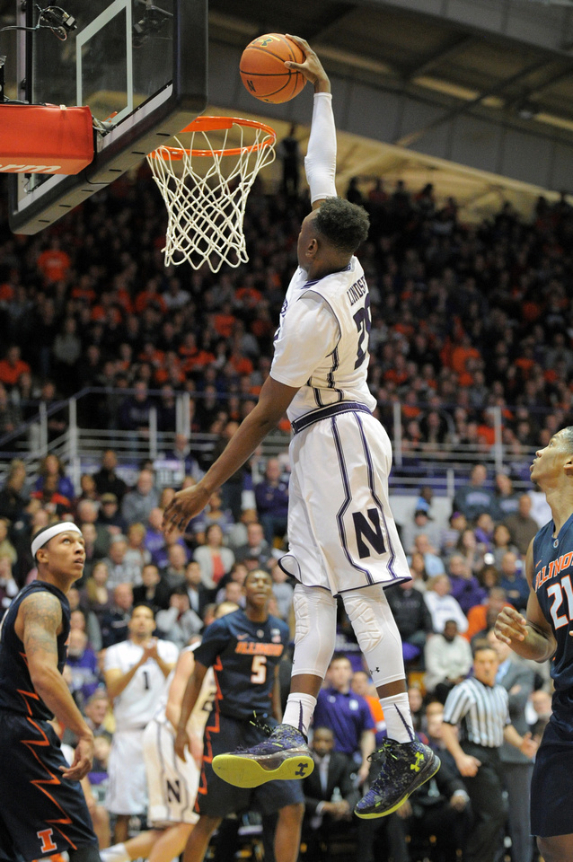 NCAA BASKETBALL: FEB 13 Illinois at Northwestern