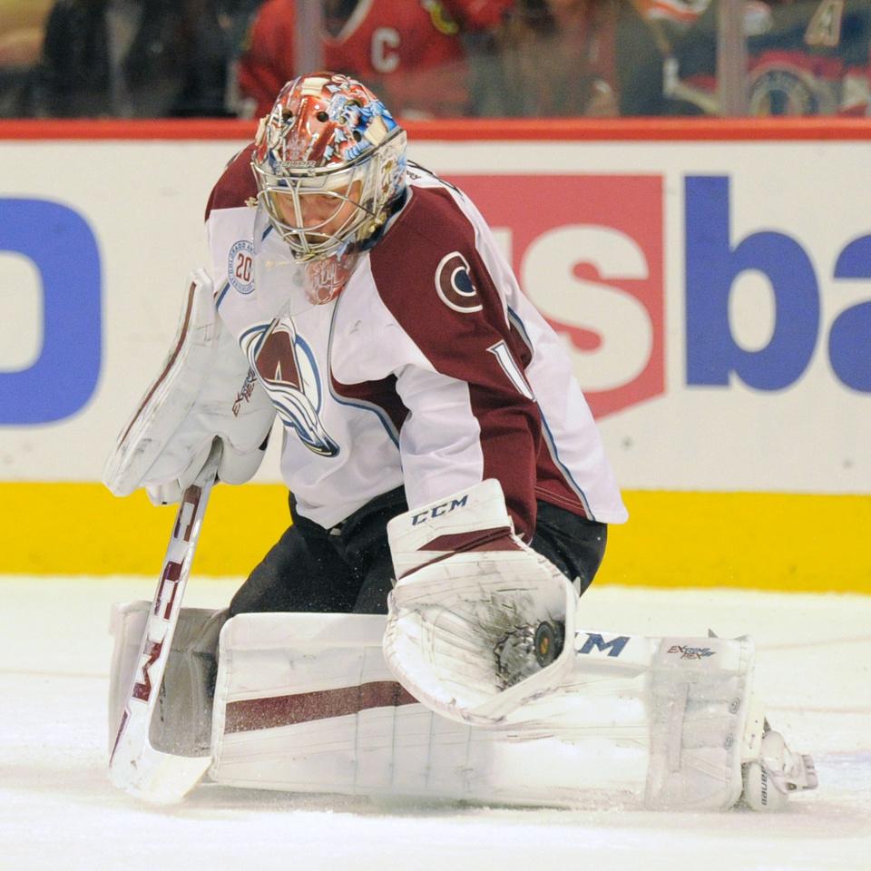NHL: JAN 10 Avalanche at Blackhawks