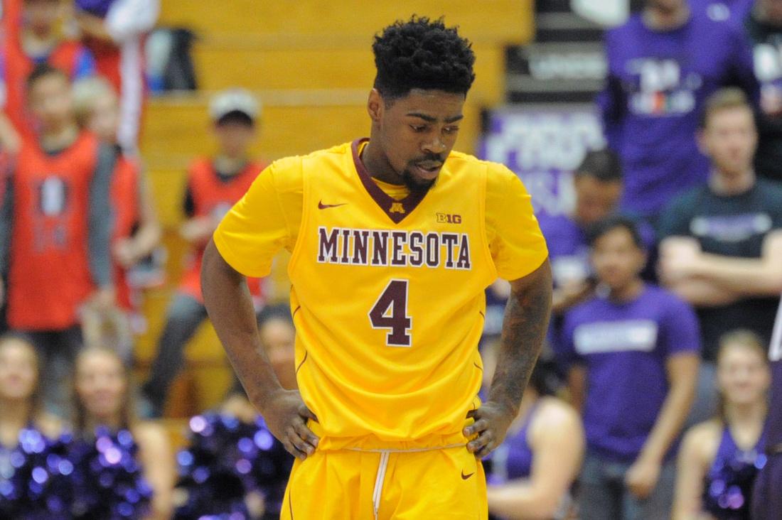 NCAA BASKETBALL: FEB 04 Minnesota at Northwestern