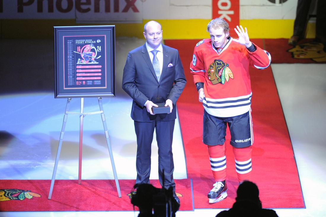 NHL: JAN 03 Senators at Blackhawks