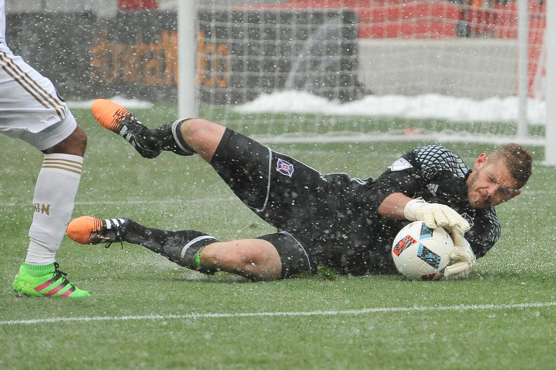 SOCCER: APR 02 MLS - Union at Fire