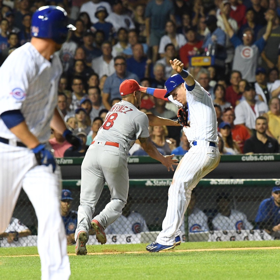 MLB: AUG 11 Cardinals at Cubs