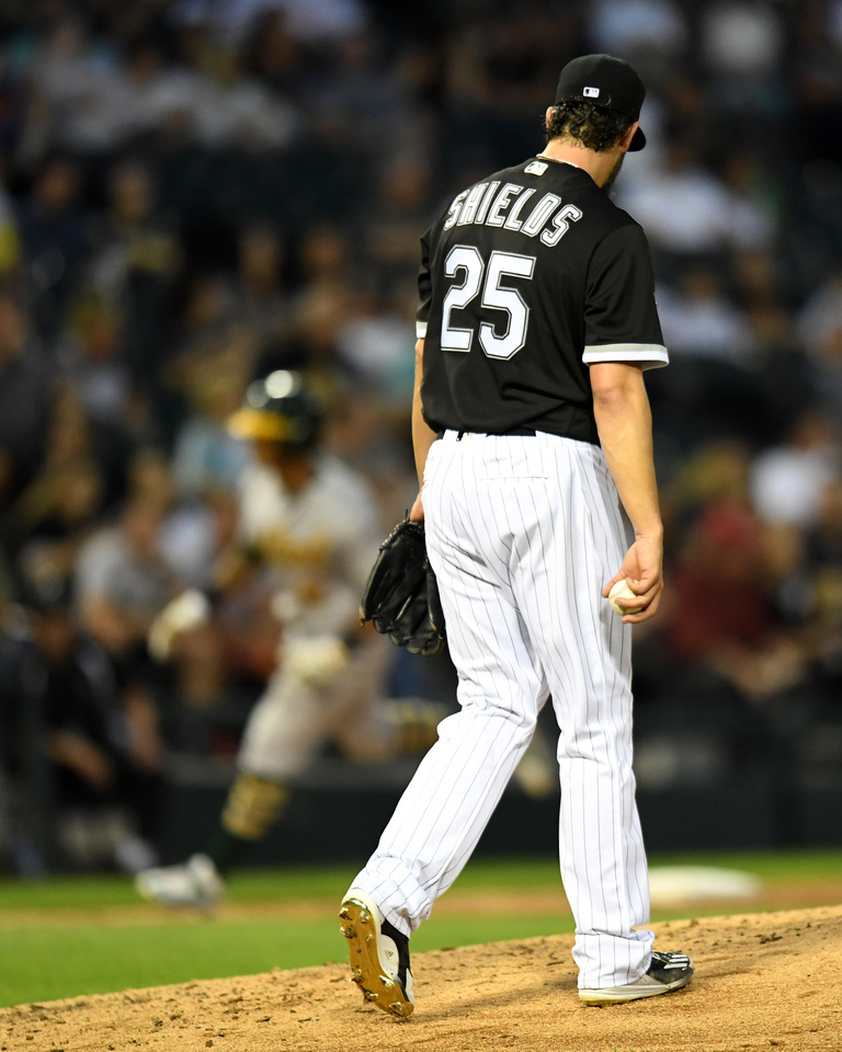 MLB: AUG 19 Athletics at White Sox