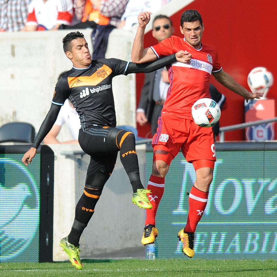 SOCCER: MAY 21 MLS - Dynamo at Fire