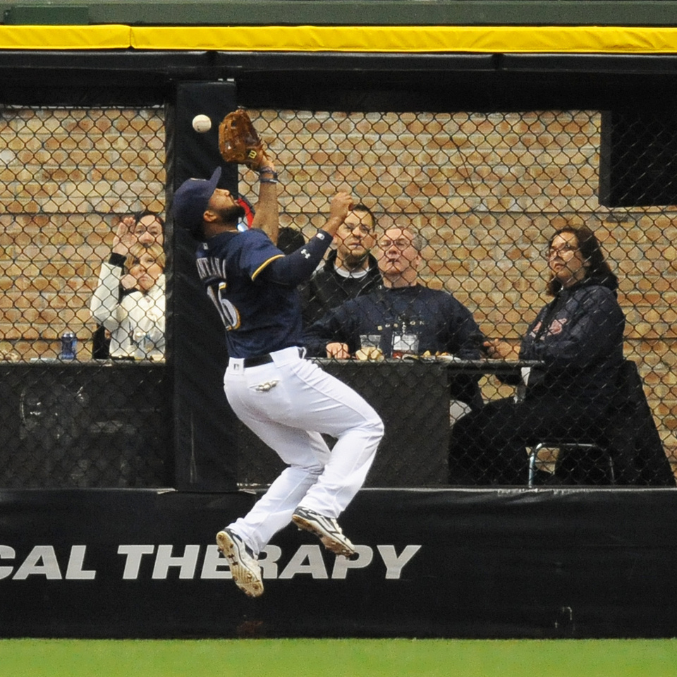 MLB: MAY 14 Padres at Brewers