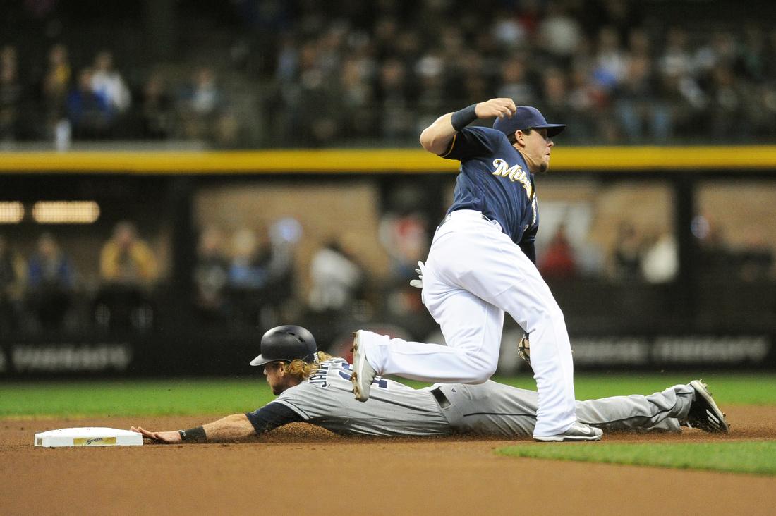 MLB: MAY 14 Padres at Brewers
