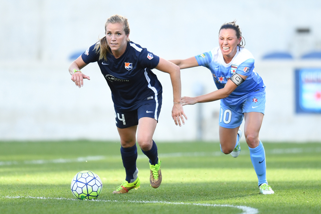 SOCCER: MAY 29 NWSL - Sky Blue FC at Chicago Red Stars