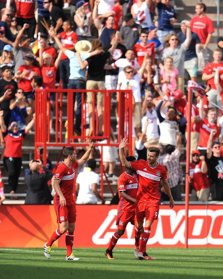 SOCCER: AUG 14 MLS - Orlando City SC at Fire
