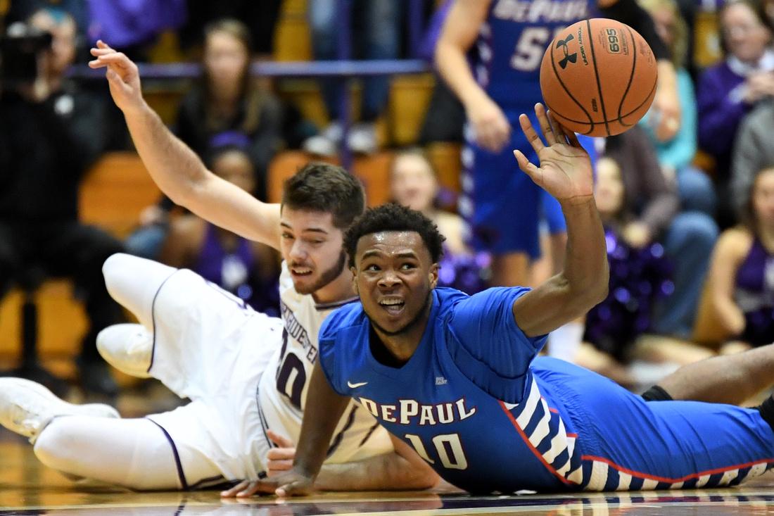 NCAA BASKETBALL: DEC 03 DePaul at Northwestern