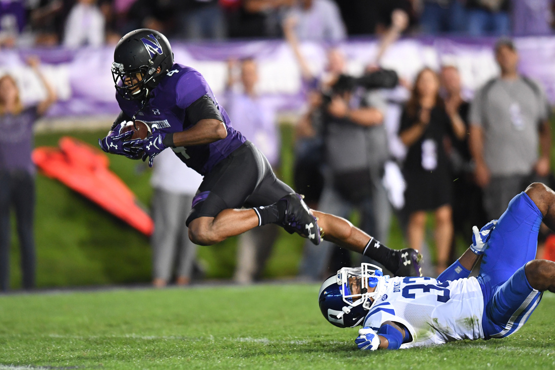 NCAA Football: Duke at Northwestern